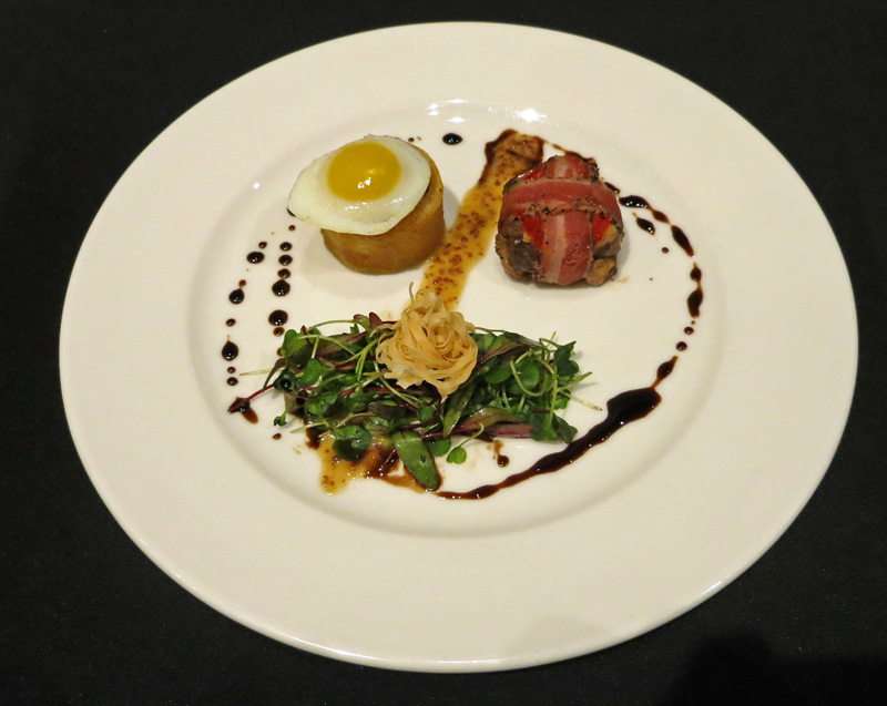 Duo of Duck Micro Green Salad by Chef JP jpg
