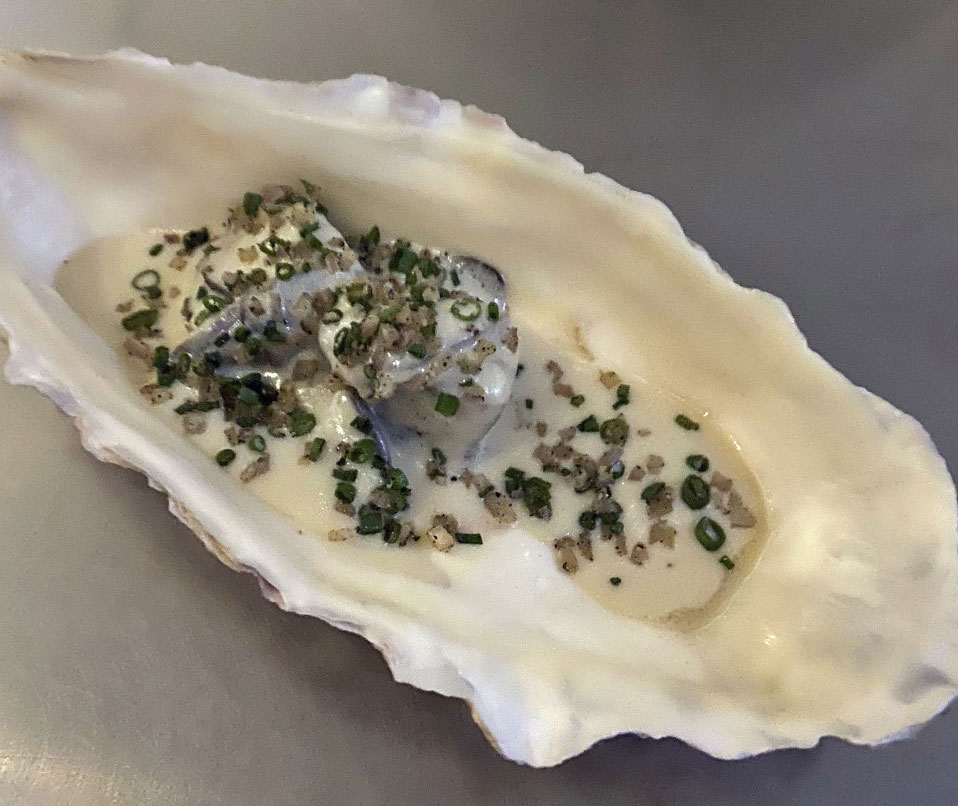 Beef Oyster, Oyster, Mignonette