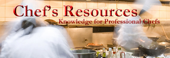 Chefs Resources website