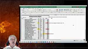 Edit Excel Inventory Sheets