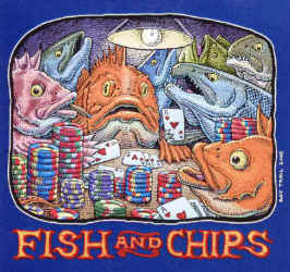 Fish & Chips by Ray Troll
