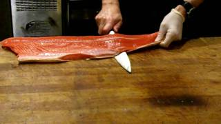 How to Skin a Salmon Fillet