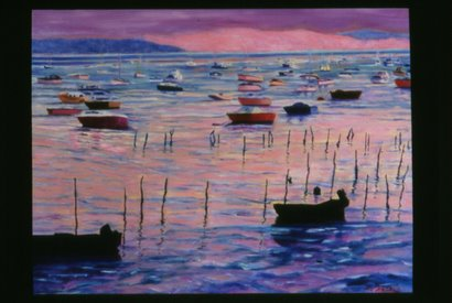 Oyster Beds in Le Canon by Marie T. Harris