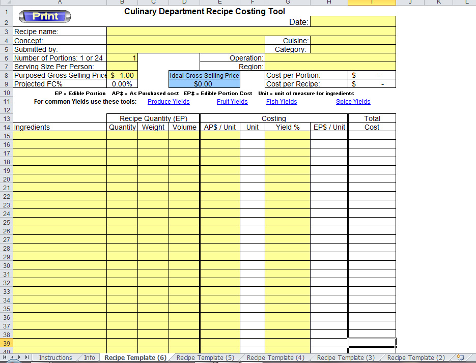 Great Excel Recipe Template 935 x 714 · 302 kB · jpeg