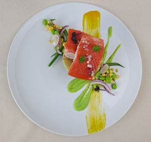 Naked King Salmon