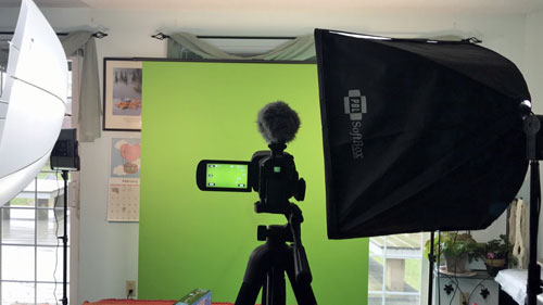 Chefs Resources Green Screen gear